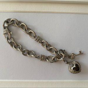 Judith Ripka Key to my Heart Bracelet